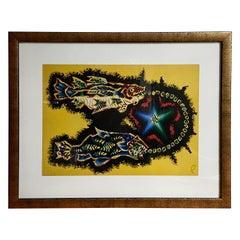 Jean Lurcat Pisces Zodiac Tapestry Lithograph
