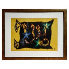 Jean Lurcat Scorpio Zodiac Tapestry Lithograph