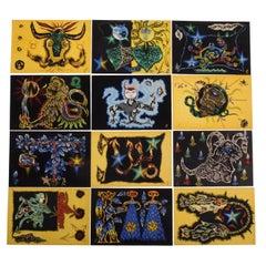 Jean Lurcat Zodiaque Portfolio Edition D'art Du Lion