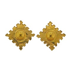 Jean Mahie Gold Earrings
