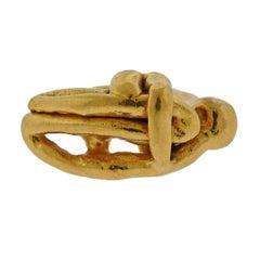 Jean Mahie Gold Figural Ring