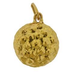 Jean Mahie Gold Pendant