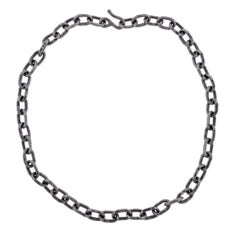 Jean Mahie Platinum Link Necklace