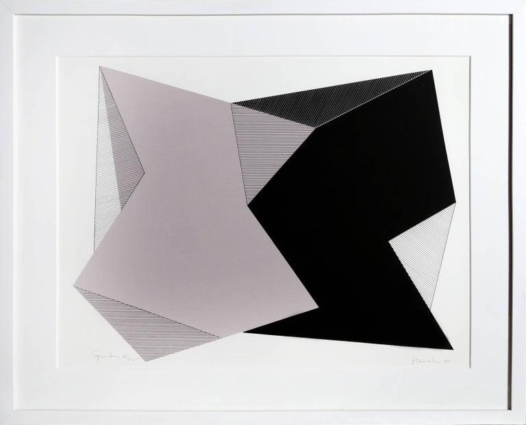 Jean-Marie Haessle Abstract Print - Symmetries