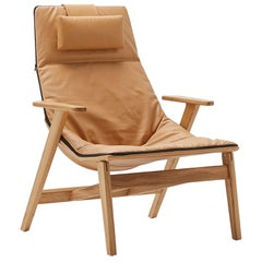 Jean-Marie Massaud, Ace Lounge Chair with Arms, Viccarbe, 2009