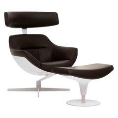 Jean Marie Massaud 'Auckland' Lounge Chair and Footrest
