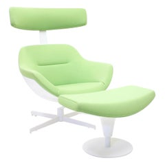 Jean-Marie Massaud, Auckland Lounge Chair and Ottoman, Cassina, 2005