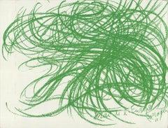 1968 Jean Messagier 'Mai de l'Europe' Lithograph