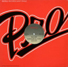 Basquiat 1983 Beat Bop Vinyl Record