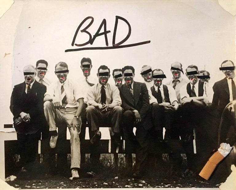 Basquiat (untitled) 'BAD'  For Sale 1