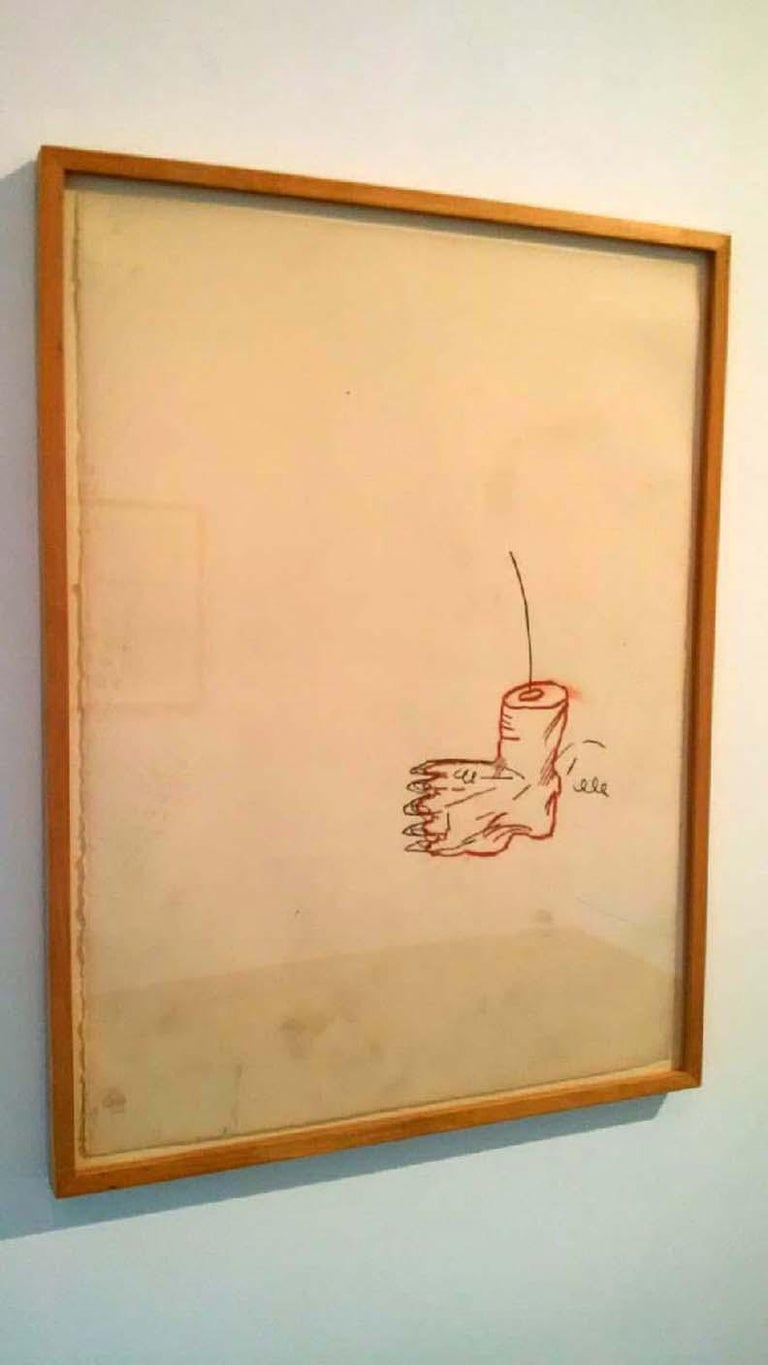 Untitled - Neo-Expressionist Mixed Media Art by Jean-Michel Basquiat