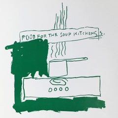Basquiat Food for the Soup Kitchens (Basquiat prints)