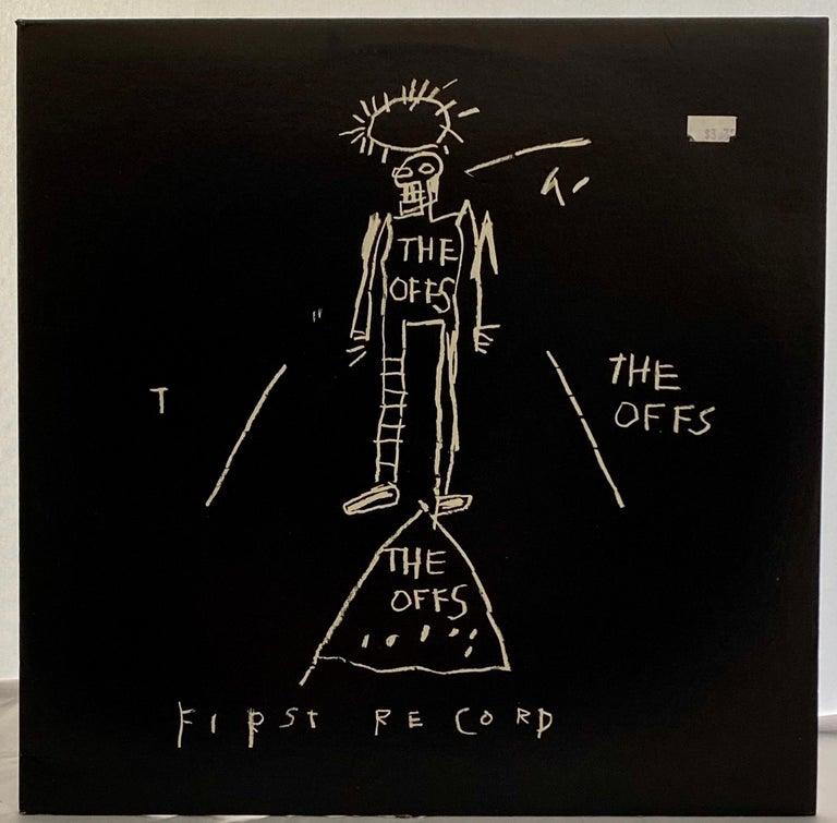 Basquiat The Offs 1984 - Pop Art Mixed Media Art by Jean-Michel Basquiat