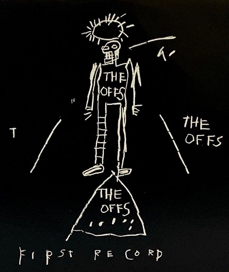 Basquiat The Offs 1984 - Mixed Media Art by Jean-Michel Basquiat