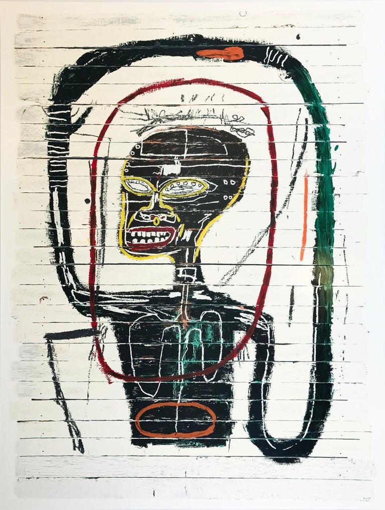 Jean-Michel Basquiat Abstract Print - Flexible