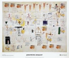 Icarus, 2002 Exhibition Lithograph, Jean-Michel Basquiat