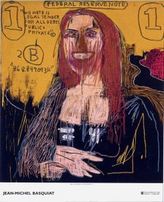 Mona Lisa, 2002 Exhibition Lithograph, Jean-Michel Basquiat - LARGE