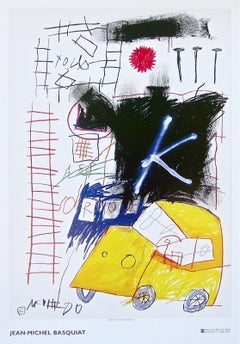 Untitled (1981), 2002 Event Lithograph, Jean-Michel Basquiat - LARGE