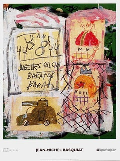 Untitled (1981), 2002 Exhibition Lithograph, Jean-Michel Basquiat