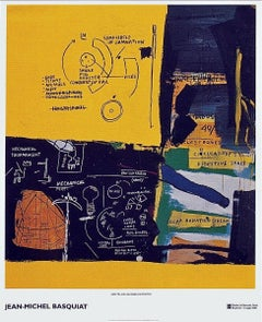 Untitled (1984), 2002 Exhibition Lithograph, Jean-Michel Basquiat - LARGE