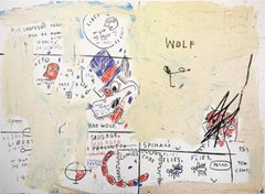Wolf Sausage, 1982-83/2019; Screenprint; 22 x 30 inches; Edition of 50