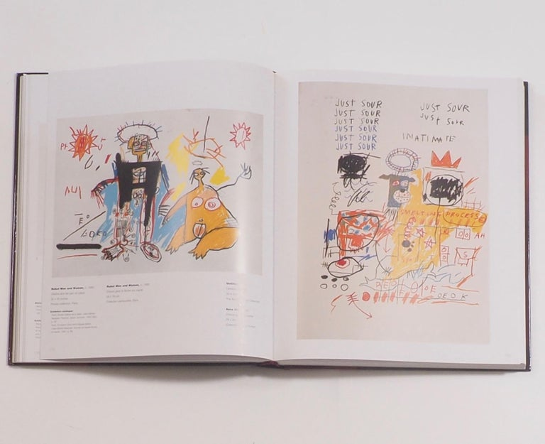 French Jean-Michel Basquiat, Catalogue Raisonne of Works on Paper First Edition For Sale