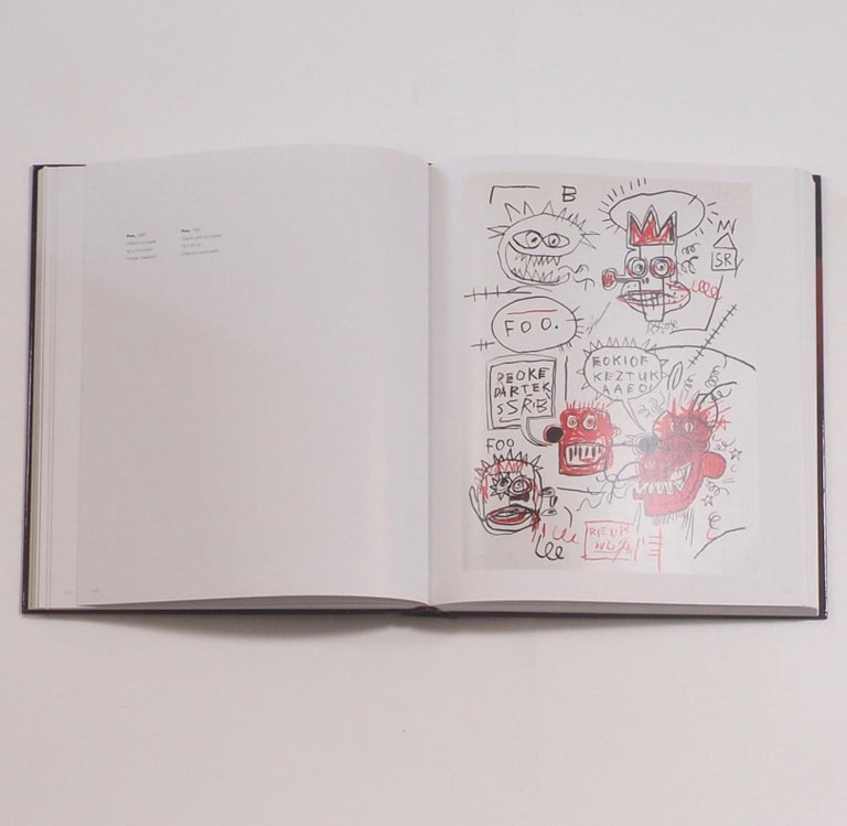 Jean-Michel Basquiat, Catalogue Raisonne of Works on Paper First Edition In Good Condition For Sale In Kingsdown, Kent