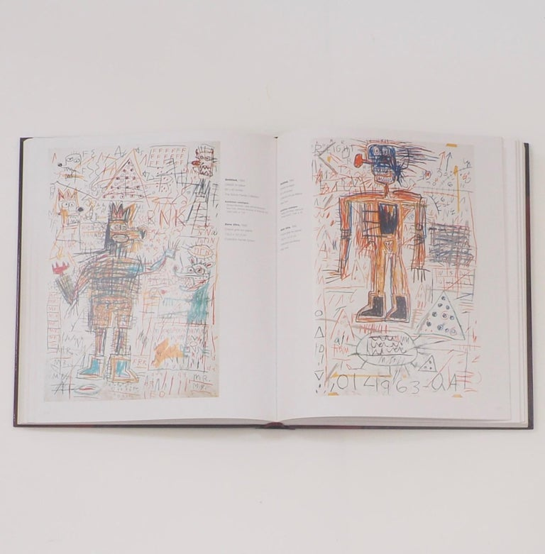 Late 20th Century Jean-Michel Basquiat, Catalogue Raisonne of Works on Paper First Edition For Sale