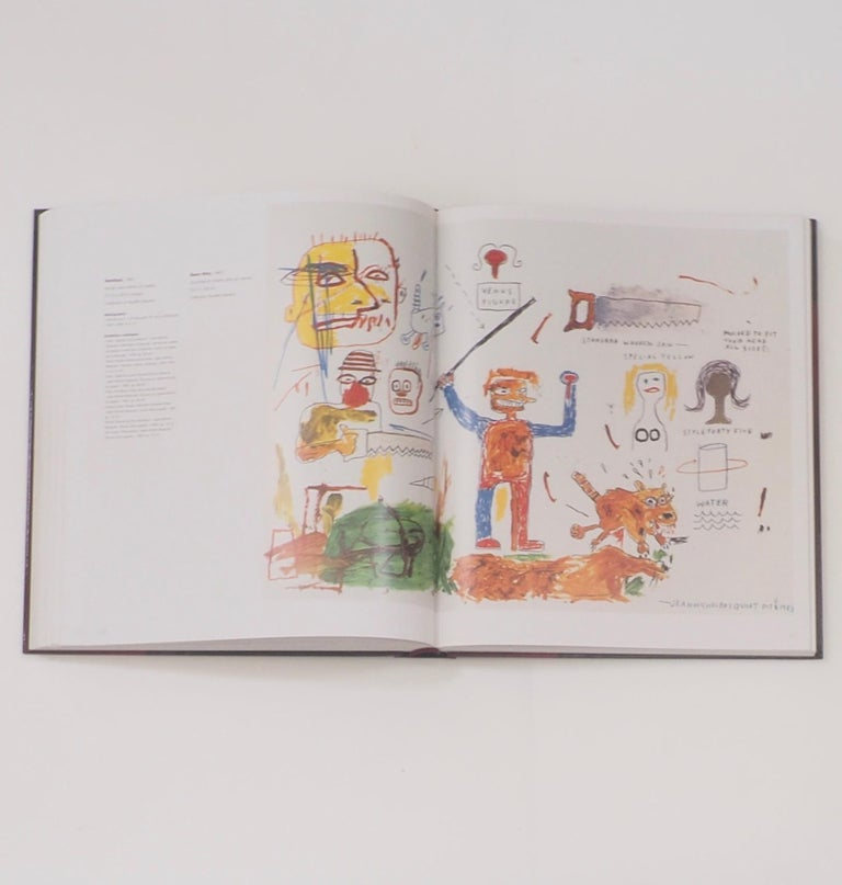 Jean-Michel Basquiat, Catalogue Raisonne of Works on Paper First Edition For Sale 2