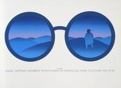 Editions Lahumiere (Eyeglasses), Serigraph by Jean-Michel Folon