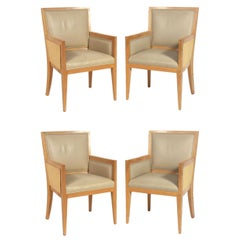 Jean Michel Frank Design Dining Chairs