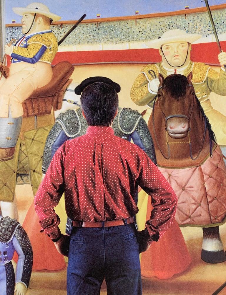 Fernando Botero in his Studio, Paris, 1992 by Jean-Michel Voge is a 13