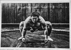 Sumo, Tokyo, Japan Contemporary Portrait Photography on Handmade Japanese Paper