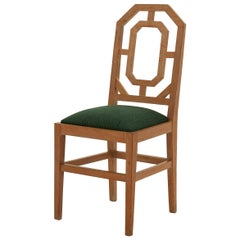 Jean-Michel Wilmotte Cerused Wood Dining Chair