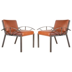 Jean-Michelle Wilmotte, 1956-1989, 2 Armchairs and 4 Chairs