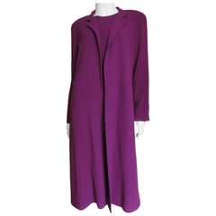Jean Muir Dress and Duster Coat Jacket