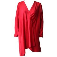 Jean Muir Vintage Crepe Robe
