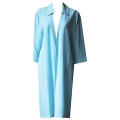 Jean Muir Vintage Wrap Wool Crepe Robe