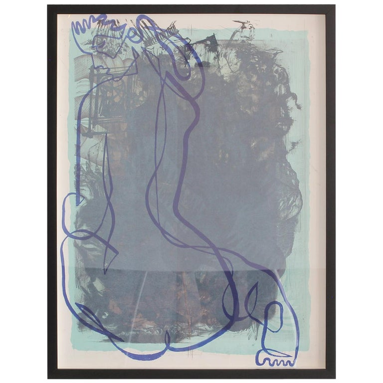 Jean Negulesco Continuous Line Drawing For Sale