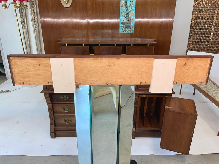 Jean Nison Ceramic Tiled Console Shelf by Weiss & Basser For Sale 4