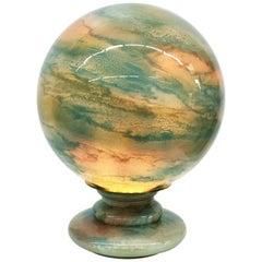 Jean Noel Bouillet, Art Glass Table Lamp, France