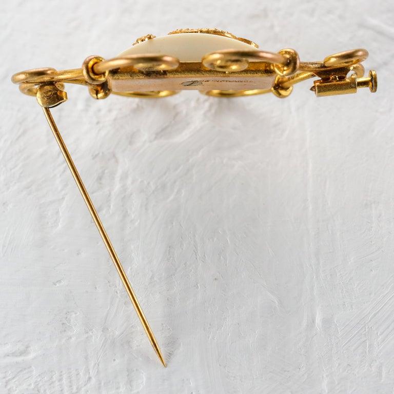 Women's Jean Painlevé Rare Seahorse Jewelry Parure For Sale