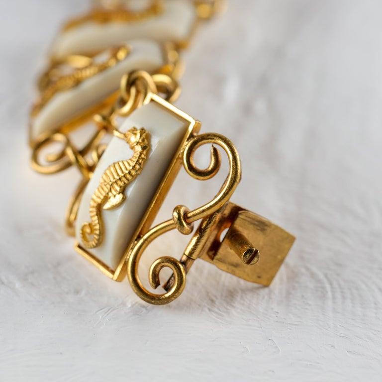 Jean Painlevé Rare Seahorse Jewelry Parure For Sale 1