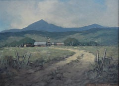 """""""The Ranch""""  Texas or New Mexico by the Daughter of Maxfield Parrish"""