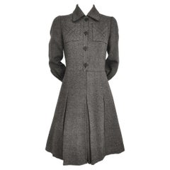 Jean Patou Boutique by Karl Lagerfeld Fitted Box Pleat Dress