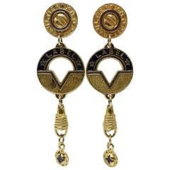 Jean Paul Gaultier 1981 'Gaultier Bijoux' Earrings