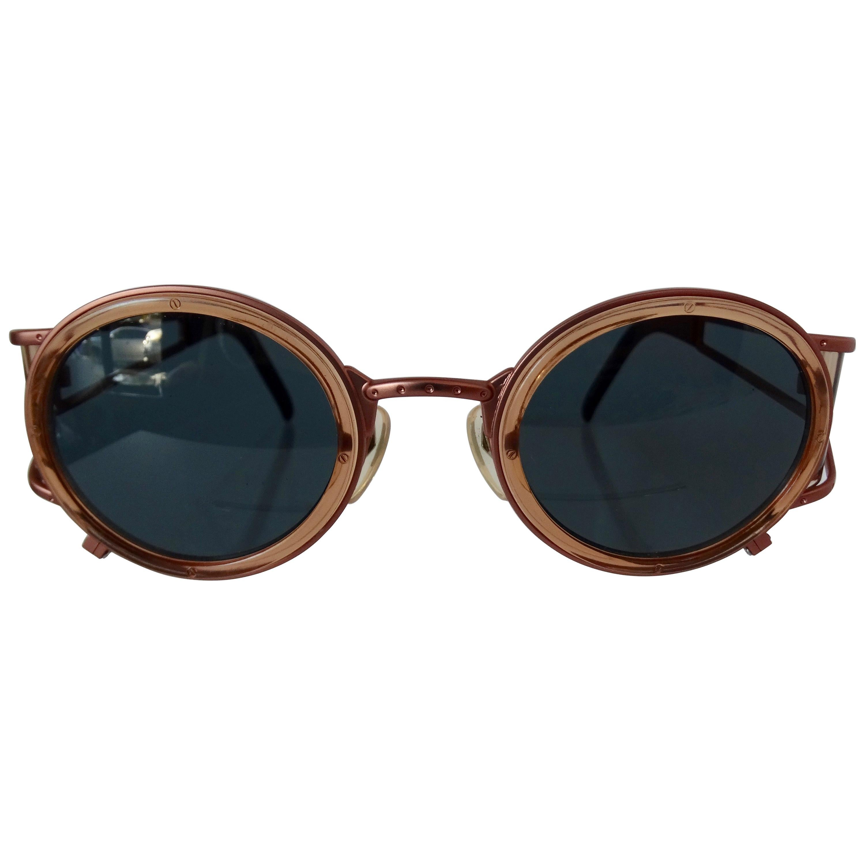 Jean Paul Gaultier 1998 Steampunk Sunglasses