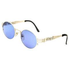 Jean Paul Gaultier 56-6106 Vintage Silver Sunglasses