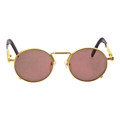 Jean Paul Gaultier 56-8171 Gold Vintage Sunglasses