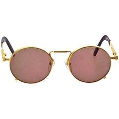Jean Paul Gaultier 56-8171 Gold Vintage Sunglasses